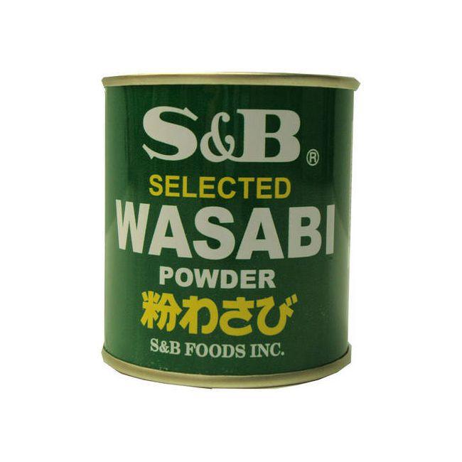 Raiz Forte Wasabi em pó S&B 30g
