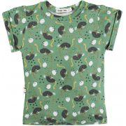 Avestruz camiseta  infantil micromodal