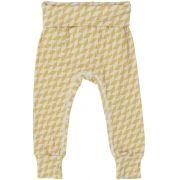 Calça Bebê Amarela Geométrico
