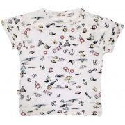 Camiseta estampa Malibu micromodal