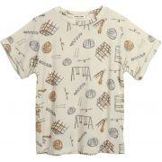 Camiseta  infantil parquinho micromodal