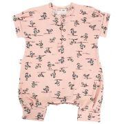 Macacão Bebê Albatroz Rosa
