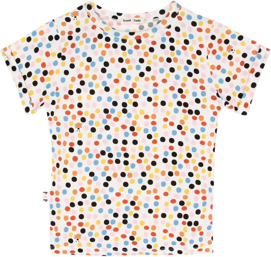 Camiseta  infantil dots micromodal