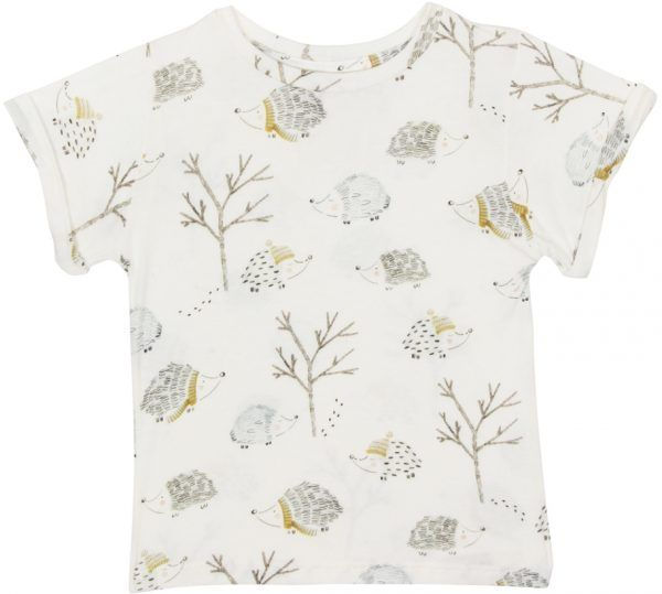Camiseta  infantil estampada winter micromodal