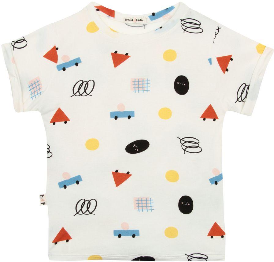 Camiseta  infantil formas micromodal
