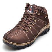 Bota Barretão Adventure Trilha Nobuck Chocolate