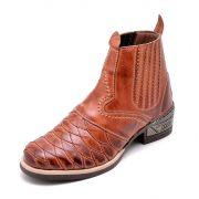 Bota Clube do Sapato de Franca Escamas Plus