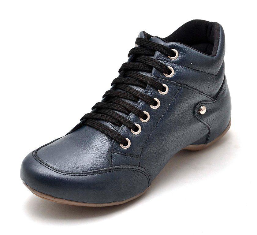 Bota Sport Clube do Sapato de Franca Top Confort Azul