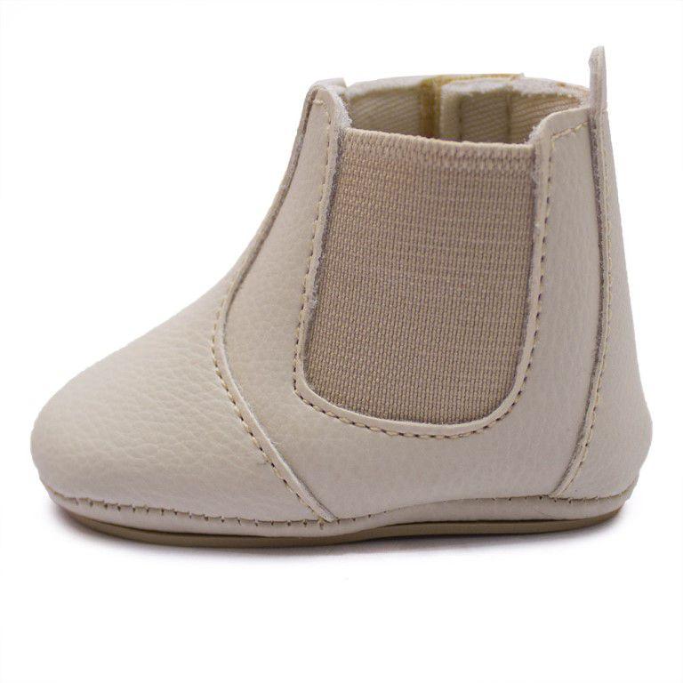 Botina Baby Clube do Sapato de Franca Bebe01 Gelo