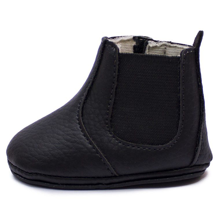 Botina Baby Clube do Sapato de Franca Bebe01 Preta