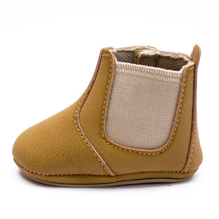 Botina Baby Clube do Sapato de Franca Bebe01 Whisky