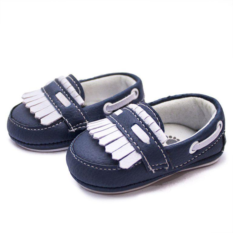 Driver Baby Clube do Sapato de Franca Bebe02 Azul