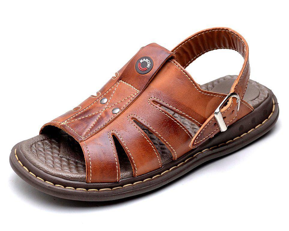 Sandália Chinelo Clube do Sapato de Franca Franciscano Havana