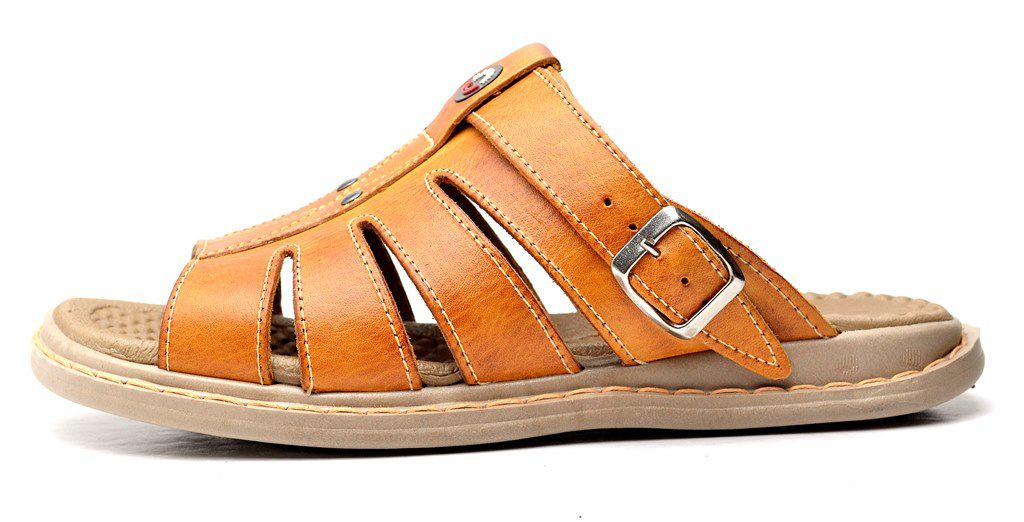 Sandália Chinelo Clube do Sapato de Franca Franciscano Whisky