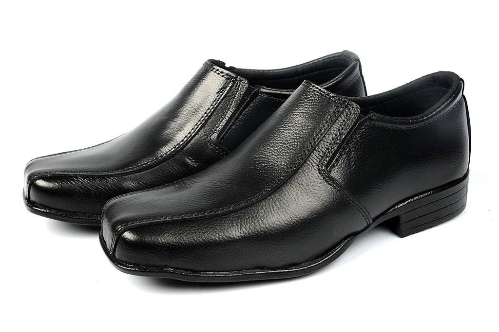 Sapato Social Clube do Sapato de Franca Bolonha Preto