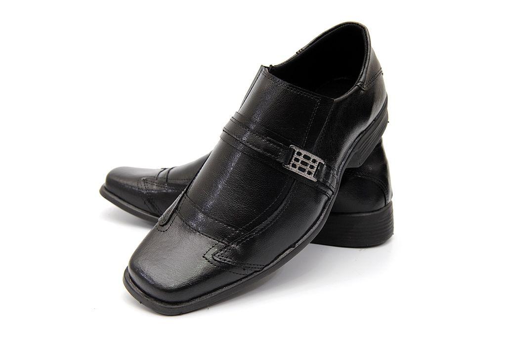 Sapato Social Clube do Sapato de Franca Savona Preto