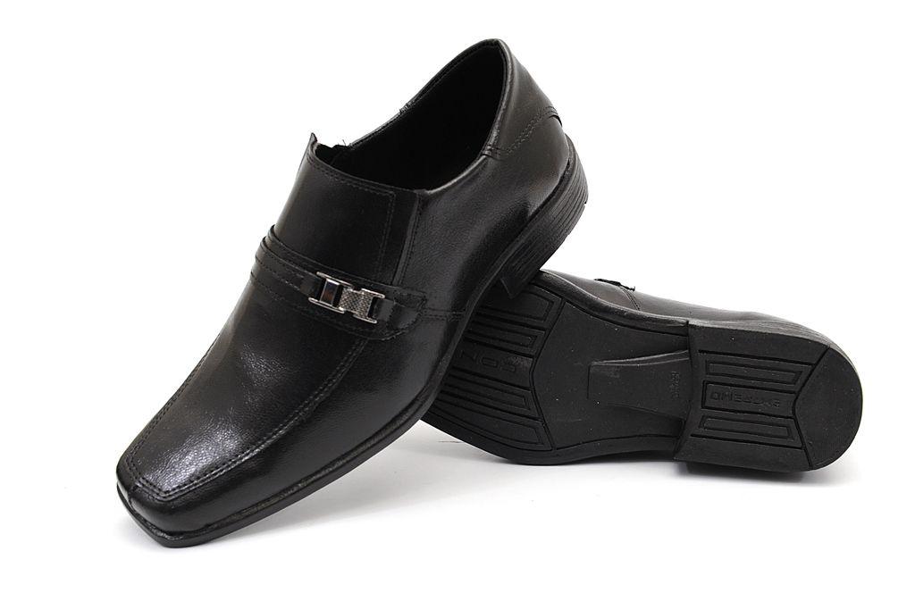 Sapato Social Clube do Sapato de Franca Taranto Preto