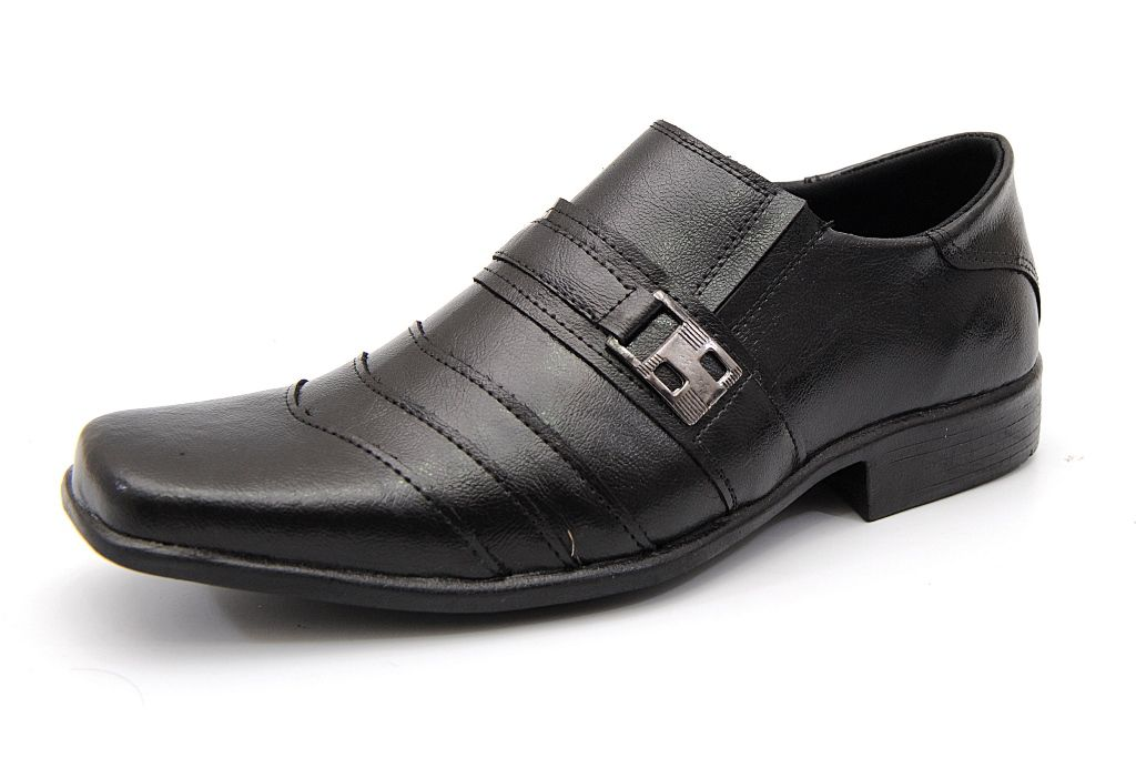 Sapato Social Clube do Sapato de Franca Trieste Preto