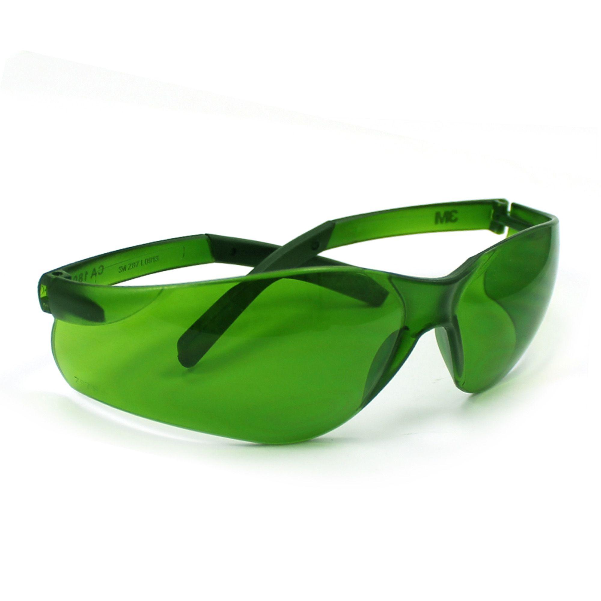 Óculos de Segurança Verde  Antirrisco Vision 8000 - 3M