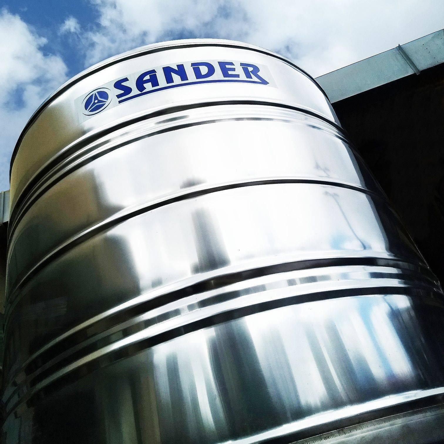 Caixa D'Água de Aço Inox Sander BG