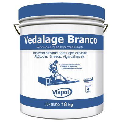 Impermeabilizante VEDALAGE BRANCO Viapol