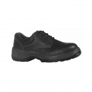 Sapato Preto Bidensidade com Amarril e Bico de Aço - CA 16.257