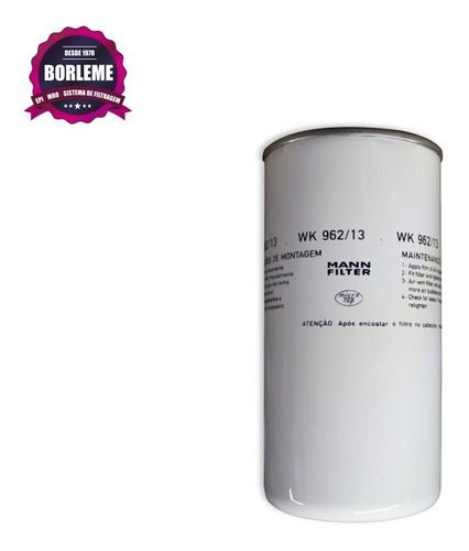 Filtro Combustível Mann Wk 962/13