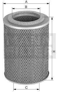 Filtro Óleo Mann-filter H1049/1