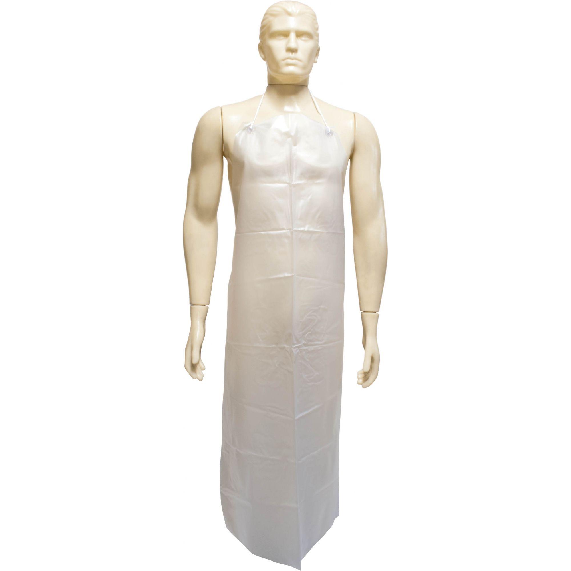 Avental PVC Transparente 1,20 X 0,70 - CA28444