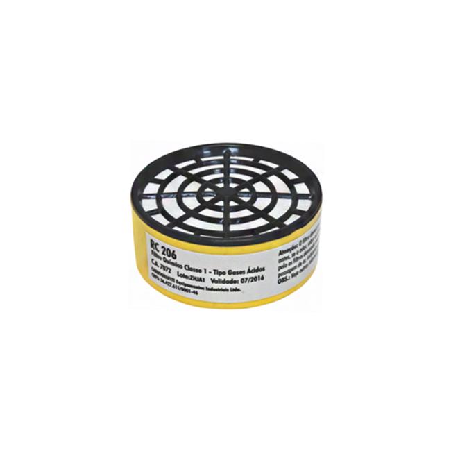 Filtro RC206 Gases Ácidos Carbografite