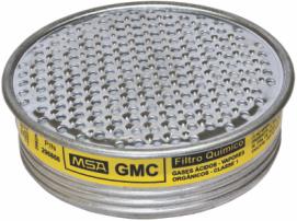 Filtro Gases Ácidos e Vapores Orgânicos GMC MSA