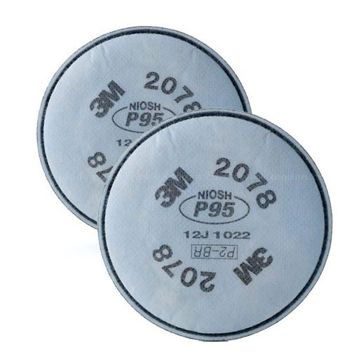 Filtro P2 2078 Vapores Orgânicos e Gases Ácidos 3M
