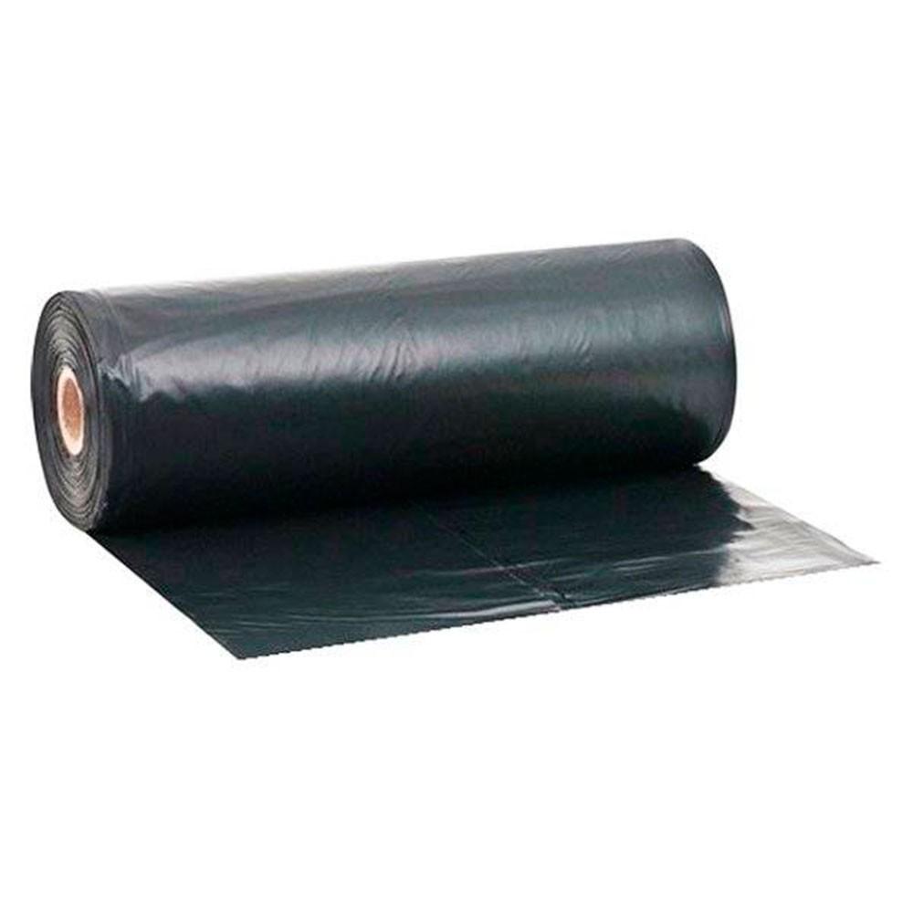 Lona Plástica Preta Rolo 6 x 100 mts - Modelo 40