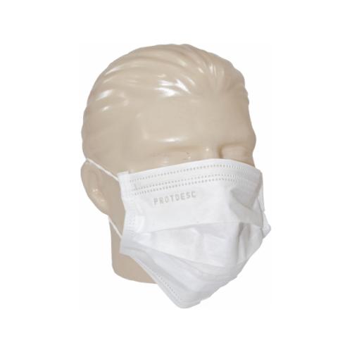 Máscara Cirúrgica Branca Tripla Protdesc