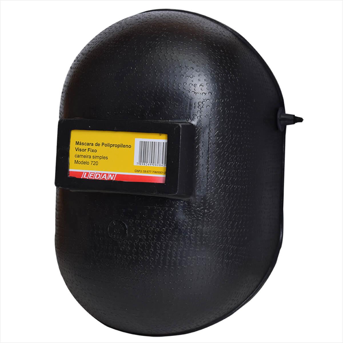 Máscara de Solda em Polipropileno Visor Fixo 740 Ledan - CA 20687