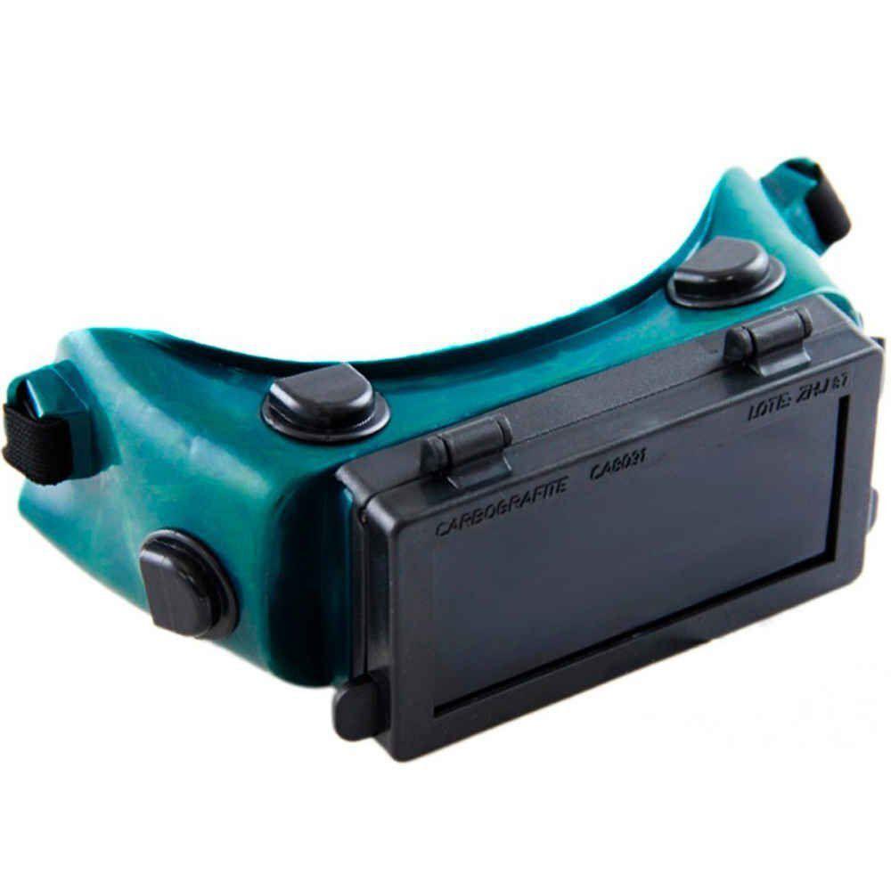 Óculos Para Solda Visor Articulado CG500 Carbografite - CA 8091