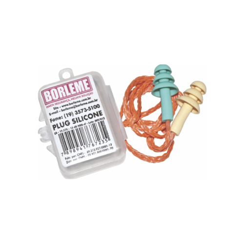 Protetor auditivo Plug Borleme - CA 19.578