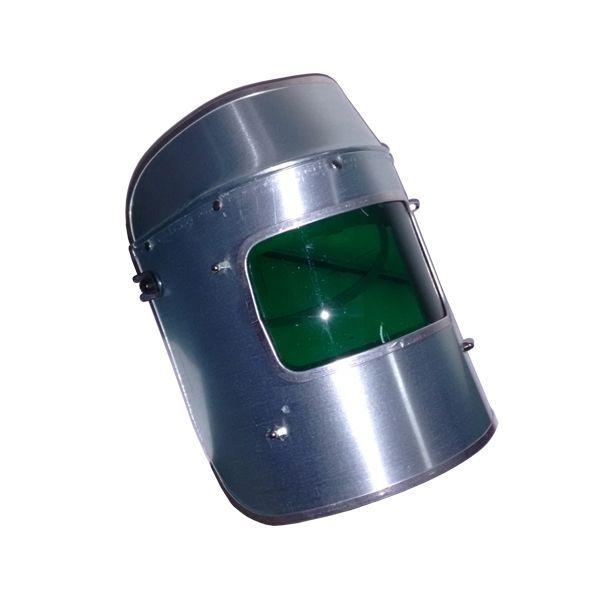 Protetor Facial incolor em Alumínio e Capacete em Celeron - CA 32725