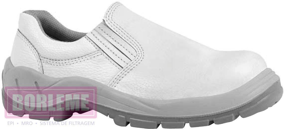 Sapato Branco Com Elástico - CA 28.629