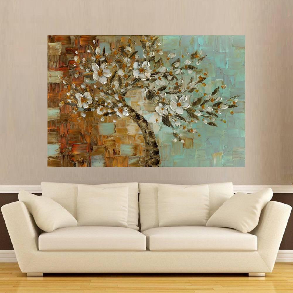 1cca88494 Quadro Pintura Tela Abstrato Moderno Cod 2405 - Meuri ...