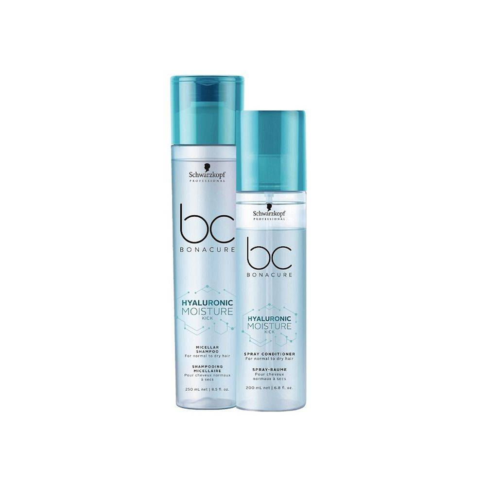 Kit Duo Spray Schwarzkopf Bc Hyaluronic Moisture Kick P
