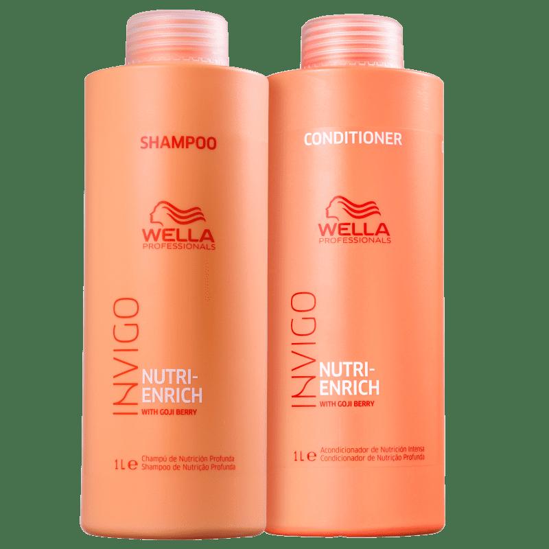 Kit Invigo Nutri-Enrich Wella Professionals litro (2 Produtos)