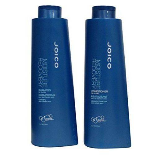 Kit Joico Moisture Recovery Profissional: Shampoo + Condicionador litro