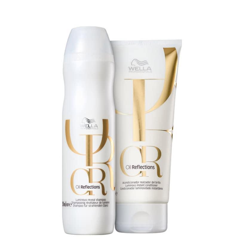 Kit Shampoo 250ml + Condicionador 200ml Oil Reflections Wella Professionals