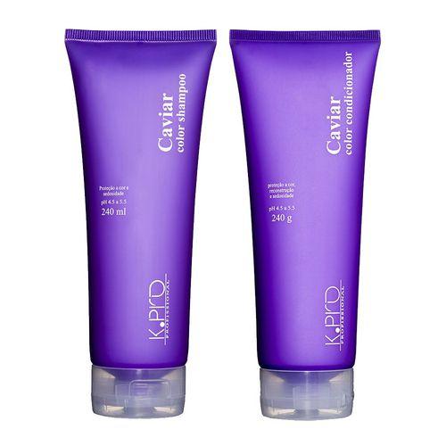 Kit Shampoo + Condicionador Caviar Color K.Pro