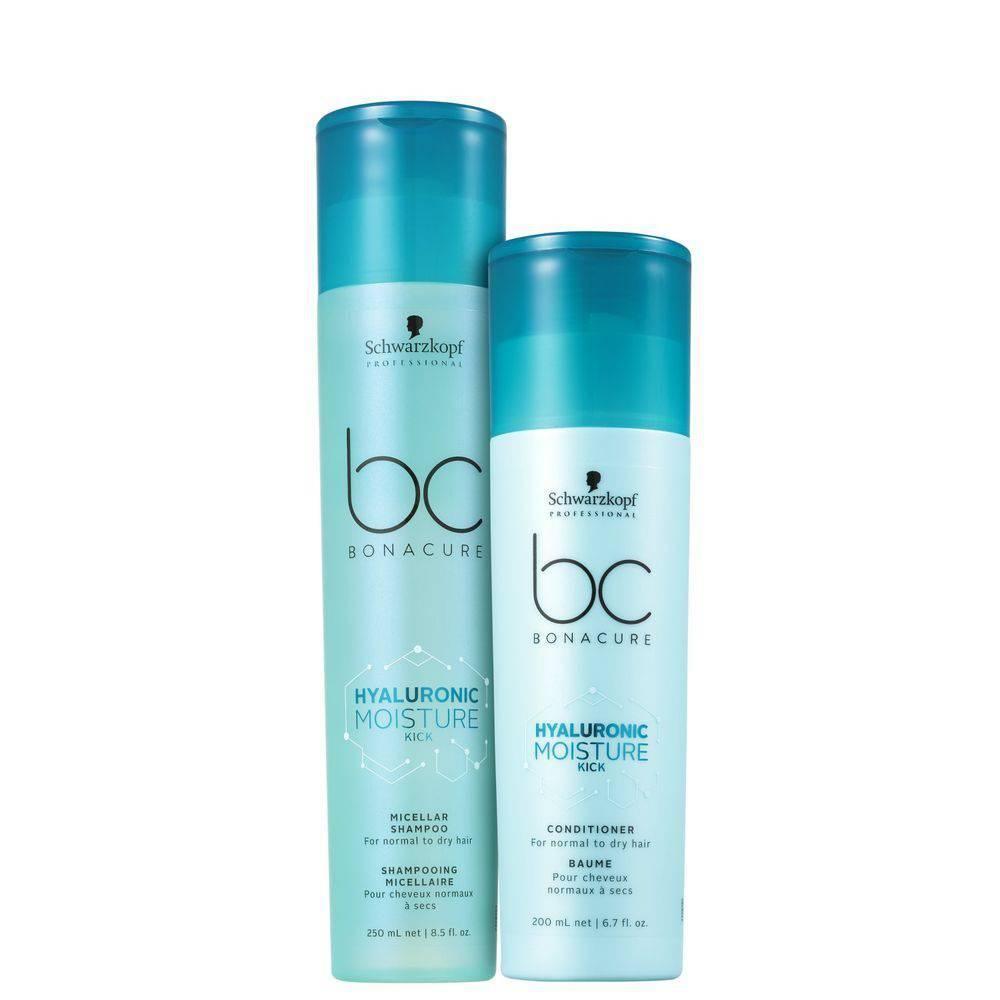 Kit Shampoo e Condicionador Moisture Kick Bc Hyaluronic Schwarzkopf Professional