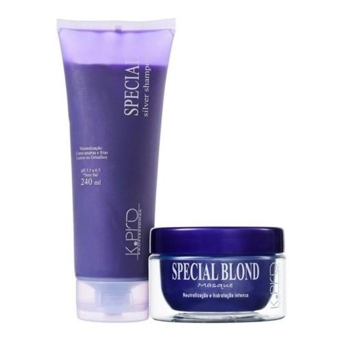 Kpro - Kit - Special Silver- Shampoo + Máscara