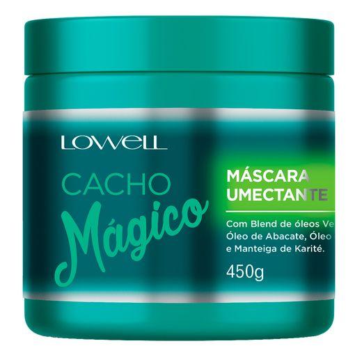 Máscara Umectante Cacho Mágico Lowell 450g
