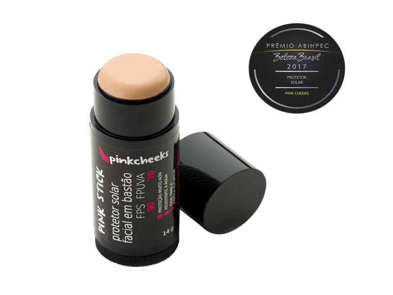 Pink Stick 15Km (B) Protetor Solar Facial Bege Médio (FPS 90 / FPUVA 70) 14g