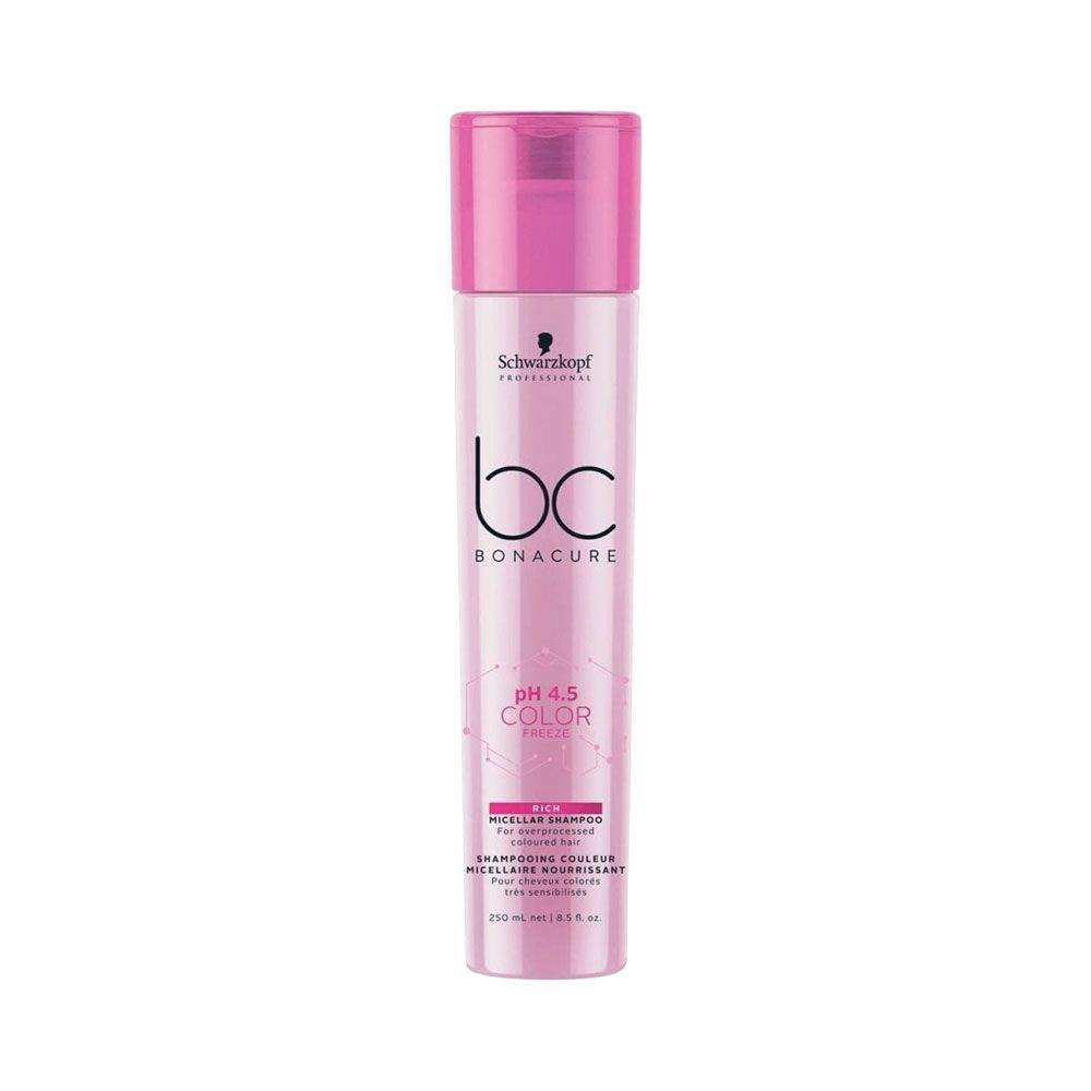 Schwarzkopf BC Bonacure Micellar pH 4.5 Color Freeze Rich - Shampoo 250ml